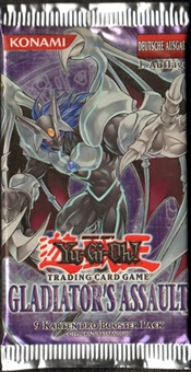 Yu-Gi-Oh Gladiator's Assault 1st Edition Booster Pack Lot of 47 (German)