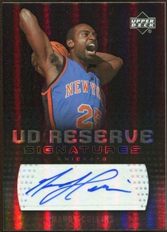 2006/07 Upper Deck UD Reserve Signatures #MC Mardy Collins Autograph