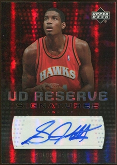 2006/07 Upper Deck UD Reserve Signatures #SJ Solomon Jones Autograph