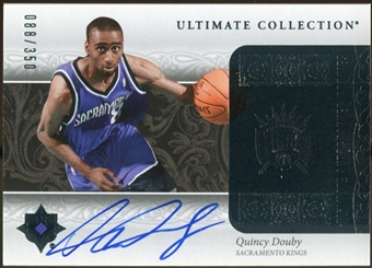 2006/07 Upper Deck Ultimate Collection #208 Quincy Douby Autograph 88/350
