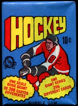 1976/77 O-Pee-Chee Hockey Wax Pack