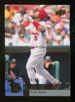 2009 Upper Deck Gold #878 Albert Pujols 95/99
