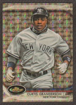 2012 Topps Finest Curtis Granderson Super Fractor 1/1  New York Yankees