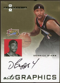 2007/08 Fleer Hot Prospects Autographics #DB Derrick Byars Autograph