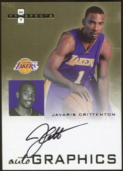 2007/08 Fleer Hot Prospects Autographics #JC Javaris Crittenton Autograph