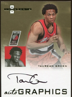 2007/08 Fleer Hot Prospects Autographics #TG Taurean Green Autograph