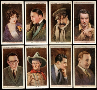 1928 Wills's Cigarettes Cinema Stars First Series Complete Set