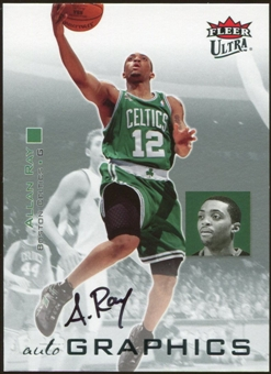 2007/08 Fleer Ultra SE Autographics Black #AUAR Allan Ray Autograph