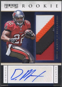 2012 Panini Prominence #232 Doug Martin Rookie Patch Auto #44/90