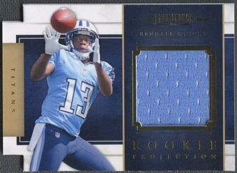 2012 Panini Prominence #26 Kendall Wright Rookie Projection Materials Jersey #249/299