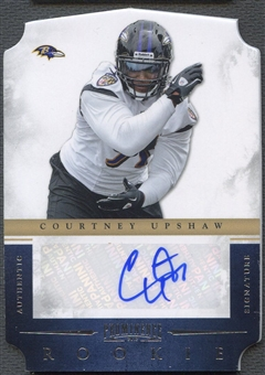 2012 Panini Prominence #172 Courtney Upshaw Rookie Auto #233/499