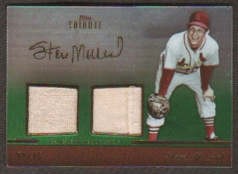 2011 Topps Tribute Stan Musial Game-Used Memorabilia serial # 58/75