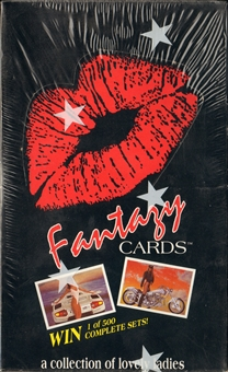 Fantasy Cards Trading Card Box (Calfun)