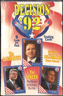 Decision '92 Trading Card Box (1992 AAA)