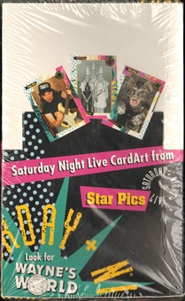 Saturday Night Live Trading Card Box (1992 Star Pics)