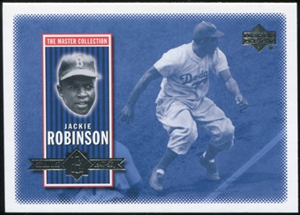 2000 Upper Deck Brooklyn Dodgers Master Collection #BD1 Jackie Robinson /250