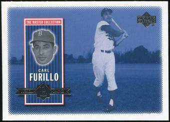 2000 Upper Deck Brooklyn Dodgers Master Collection #BD5 Carl Furillo /250