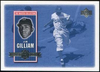 2000 Upper Deck Brooklyn Dodgers Master Collection #BD9 Jim Gilliam /250