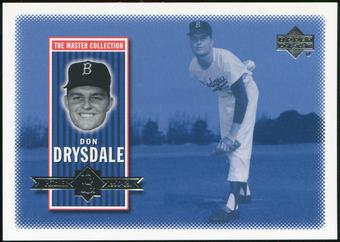2000 Upper Deck Brooklyn Dodgers Master Collection #BD10 Don Drysdale /250