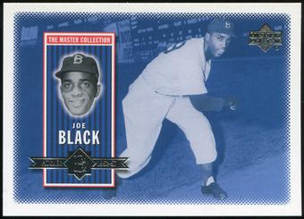 2000 Upper Deck Brooklyn Dodgers Master Collection #BD12 Joe Black /250