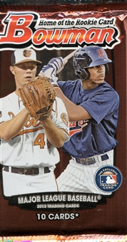 2013 Bowman Baseball Retail Pack