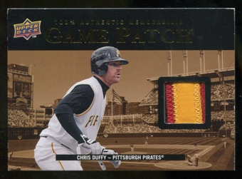 2008 Upper Deck UD Game Materials 1999 Patch #CD Chris Duffy