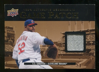 2008 Upper Deck UD Game Materials 1999 Patch #CS C.C. Sabathia