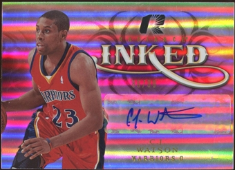 2008/09 Upper Deck Radiance Inked #ICW C.J. Watson Autograph 86/99