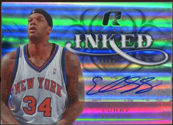 2008/09 Upper Deck Radiance Inked #IEC Eddy Curry Autograph /99