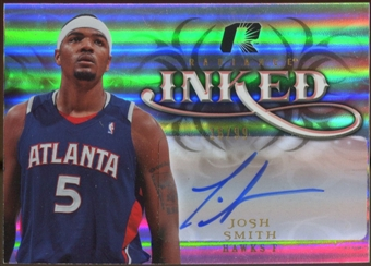2008/09 Upper Deck Radiance Inked #IJS Josh Smith Autograph /99