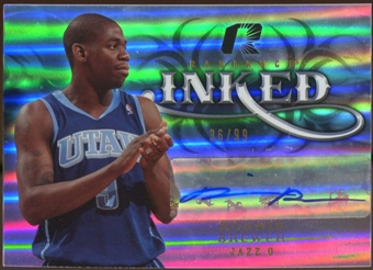 2008/09 Upper Deck Radiance Inked #IRB Ronnie Brewer Autograph /99