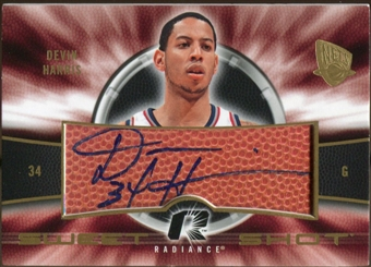 2008/09 Upper Deck Radiance Sweet Shot Autographs #SSHA Devin Harris