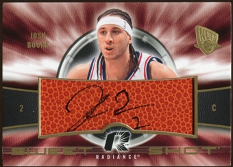 2008/09 Upper Deck Radiance Sweet Shot Autographs #SSJB Josh Boone