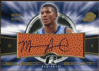 2008/09 Upper Deck Radiance Sweet Shot Autographs #SSMA Morris Almond