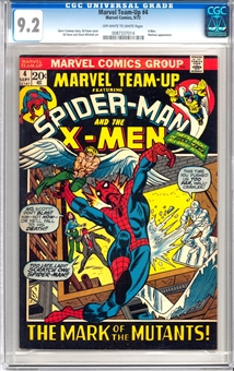 Marvel Team-Up #4 CGC 9.2 (OW-W) *0087337014*