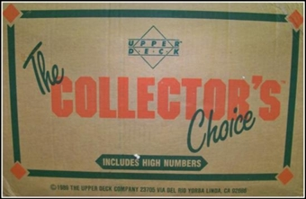 1989 Upper Deck High # Baseball Wax 20-Box Case