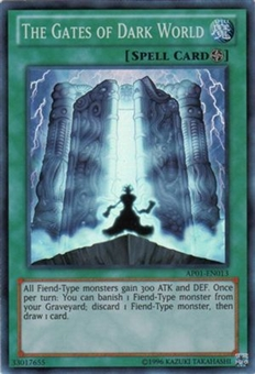 Yu-Gi-Oh Astral Pack Single The Gates of Dark World Super Rare