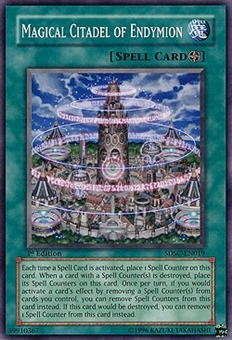 Yu-Gi-Oh SD Spellcaster Single Magical Citadel of Endymion Common