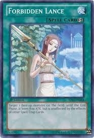 Yu-Gi-Oh Battle Pack Single Forbidden Lance Common