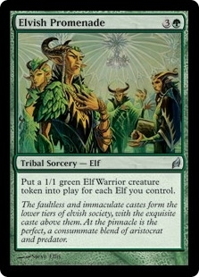 Magic the Gathering Lorwyn Single Elvish Promenade - NEAR MINT (NM)
