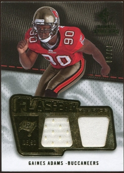 2008 Upper Deck SP Rookie Threads Flashback Fabrics #FFGA Gaines Adams 49/60
