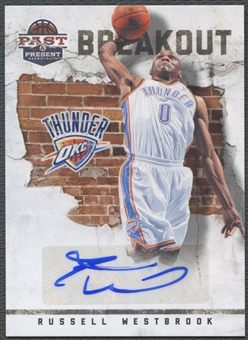 2011/12 Panini Past and Present #13 Russell Westbrook Breakout Auto