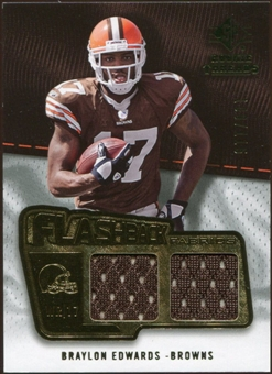 2008 Upper Deck SP Rookie Threads Flashback Fabrics 99-115 #FFBE Braylon Edwards /115