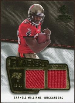 2008 Upper Deck SP Rookie Threads Flashback Fabrics 99-115 #FFCW Cadillac Williams /115