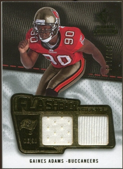 2008 Upper Deck SP Rookie Threads Flashback Fabrics #FFGA Gaines Adams /115