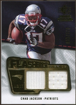 2008 Upper Deck SP Rookie Threads Flashback Fabrics 99-115 #FFJA Chad Jackson /115