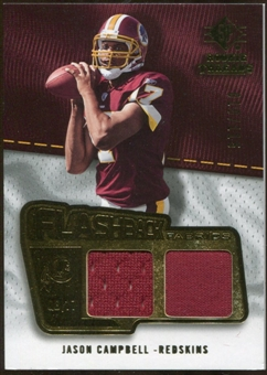 2008 Upper Deck SP Rookie Threads Flashback Fabrics #FFJC Jason Campbell /115