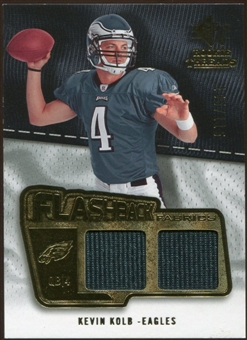 2008 Upper Deck SP Rookie Threads Flashback Fabrics #FFKK Kevin Kolb /115