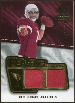 2008 Upper Deck SP Rookie Threads Flashback Fabrics #FFLE Matt Leinart /115