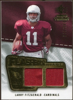 2008 Upper Deck SP Rookie Threads Flashback Fabrics #FFLF Larry Fitzgerald /115